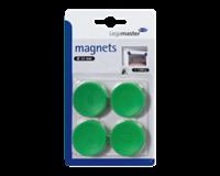 Legamaster Magneet  35mm 1000gr groen 4stuks