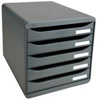 Exacompta ladenblok Big-Box Plus Classic, muisgrijs