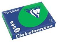 Clairefontaine Trophée Intens A4, 120 g, 250 vel, bijartgroen