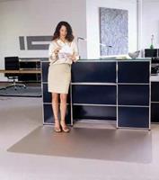 Floortex Vloerbeschermer PVC - Tapijt - 120x150cm