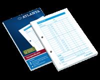 Atlanta Kasspecificatie  A6 100vel