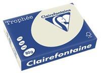 Clairefontaine Kopieerpapier  A4 80gr parelgrijs 500vel