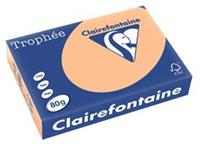 Clairefontaine Trophée Pastel A4, 80 g, 500 vel, abrikoos