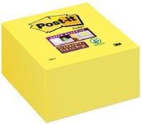 Memoblok  2028S kubus Super Sticky ultra geel