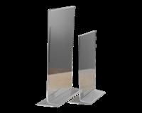 Opus2 Kaarthouder  T-standaard A4 staand acryl