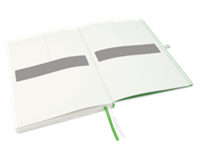 Leitz Notitieboek  Complete hardcover A5 gelinieerd wit