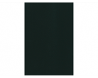 Kangaro Voorblad  A4 PP 300micron zwart 10stuks