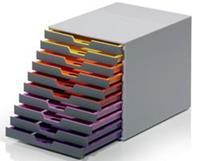Ladenbox  Varicolor 10 laden grijs