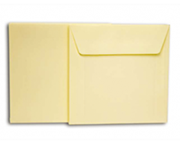 Papyrus Envelop  140x140mm wit