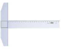 Mobius Tekenhaak M+R 1760 60cm transparant