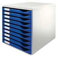Leitz Ladenblok  5281 10 laden blauw