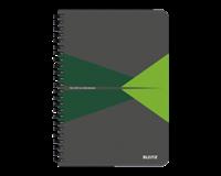 leitz Notitieboek  Office A5 lijn karton groen