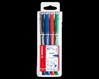 Stabilo Fineliner  Sensor 189 etui à 4 kleuren