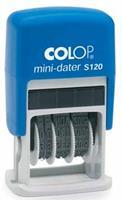 Colop Datumstempel  S120 mini-dater 4mm frans