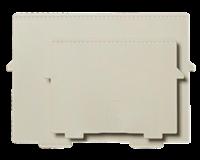 Multiform Scheidingsplaat kaartenbak  A4 dwars grijs