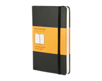 moleskine Notitieboek  pocket 90x140mm lijn zwart