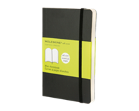 Moleskine Notitieboek  pocket 90x140mm blanco zwart