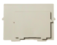 Multiform Scheidingsplaat kaartenbak  A6 dwars grijs