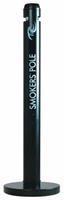 Rubbermaid peukenzuil Smokers' Pole, ft 10,2 x 107,9 cm, zwart