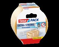 TESA Verpakkingstape  50mmx66m transparant extra sterk PVC