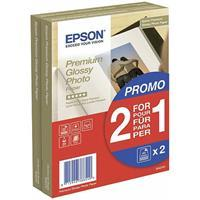 Epson S042167 Premium glossy photo paper 255g/m2 10x15cm 2x40SH