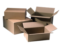 Cleverpack Verzenddoos  bulk 250x250x250mm bruin 25stuks