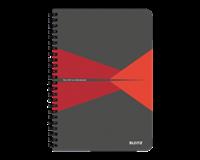 leitz Notitieboek  Office A5 lijn PP rood