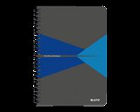 leitz Notitieboek  Office A5 lijn PP blauw