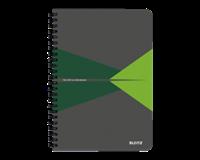 leitz Notitieboek  Office A5 lijn PP groen