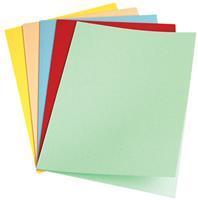 5 Star dossiermap geassorteerde kleuren, pak van 100