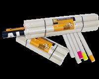 Cleverpack Verzendkoker  A3 +doppen 330x29.7x1.2 wit 20stuks