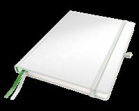 Notitieboek  Complete hardcover A4 gelinieerd wit