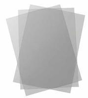 GBC Voorblad  A4 PVC 180micron transparant 100stuks