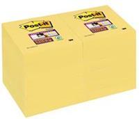 Memoblok  622-SSY Super Sticky 47.6x47.6mm geel