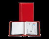 Brepols Creditkaart etui Palermo 40stuks rood