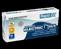 Rapid Nieten voor electrische nietmachines 65/6 verzinkt (pak 5000 stuks)
