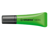 Stabilo Tekstmarker NEON 2 - 5 mm. groen (pak 10 stuks)