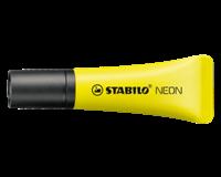 Stabilo Tekstmarker NEON 2 - 5 mm. geel (pak 10 stuks)