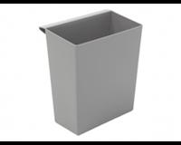 Vepa Bins Inzetbak voor vierkante tapse papierbak grijs