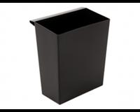 Vepa Bins Inzetbak voor vierkante tapse papierbak zwart