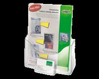 Sigel Folderhouder  LH111 1xA4 staand transparant+visitek.