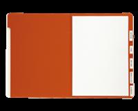 Lucido Sorteermap  A4 6-vaks rood
