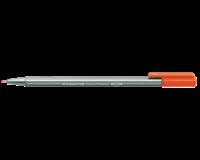Staedtler Fineliner Triplus 0.3 mm. rood (pak 10 stuks)