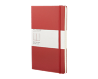 moleskine Notitieboek  large 130x210mm lijn rood