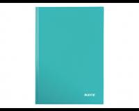 leitz Notitieboek  WOW A4 gelinieerd ijsblauw