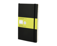 Moleskine Notitieboek  large 130x210mm blanco zwart