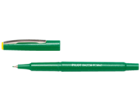 Pilot Fineliner  Razor Point SW-10 PP groen 0.4mm