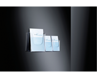 Sigel Folderhouder  LH115 1xA4 wand transparant