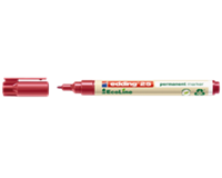 Viltstift Edding 25 Ecoline rond 1mm rood