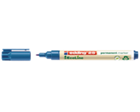Viltstift Edding 25 Ecoline rond 1mm blauw